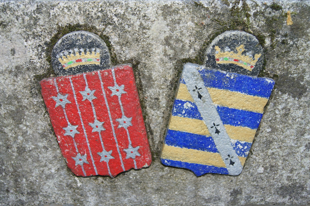 Blason et armoirie Domaine de Lafayette - location mariage morbihan